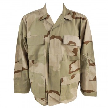 """African """"Coffee Stain"""" Camouflage Shirt"""
