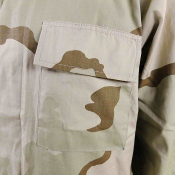 "African ""Coffee Stain"" Camouflage Shirt"