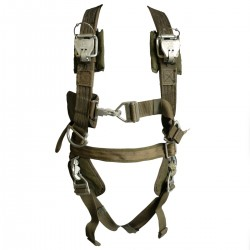 US Parachute Harness Plus Chute Bag