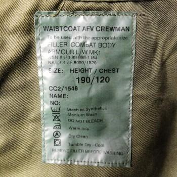 British AFV Crewmans Waistcoat