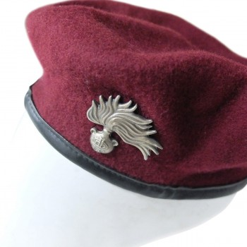Italian Carabineri Intervention Suit With Beret And Badge