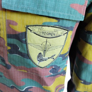 Belgian SBS Jigsaw Camouflage BDU Shirt