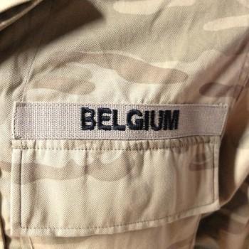 Belgian Desert Camo Set
